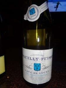 Cave de Lugny Pouilly Fuisse 2009