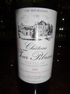 Ch Tour Pibran 2000