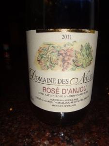 Domaine des Nouelles Rose dAnjou 2011