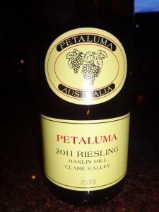 Petaluma Riesling 2011
